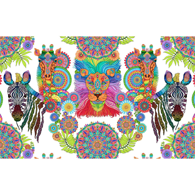 Safari So Goodie | 24 Fabric Panel