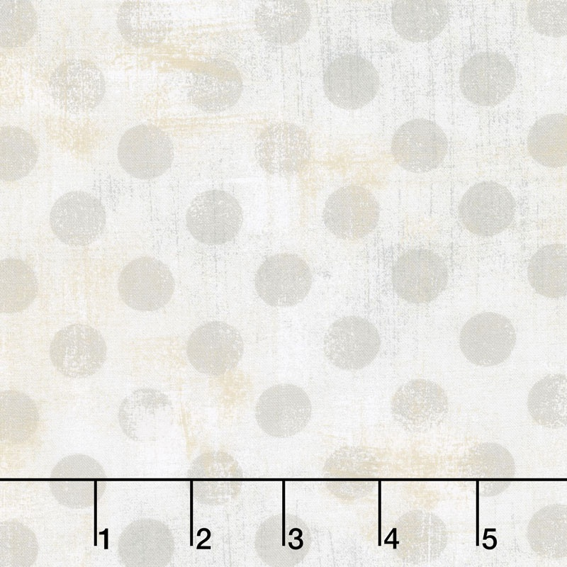 Grunge Hits The Spot in White Paper by Basic Grey for Moda Fabrics