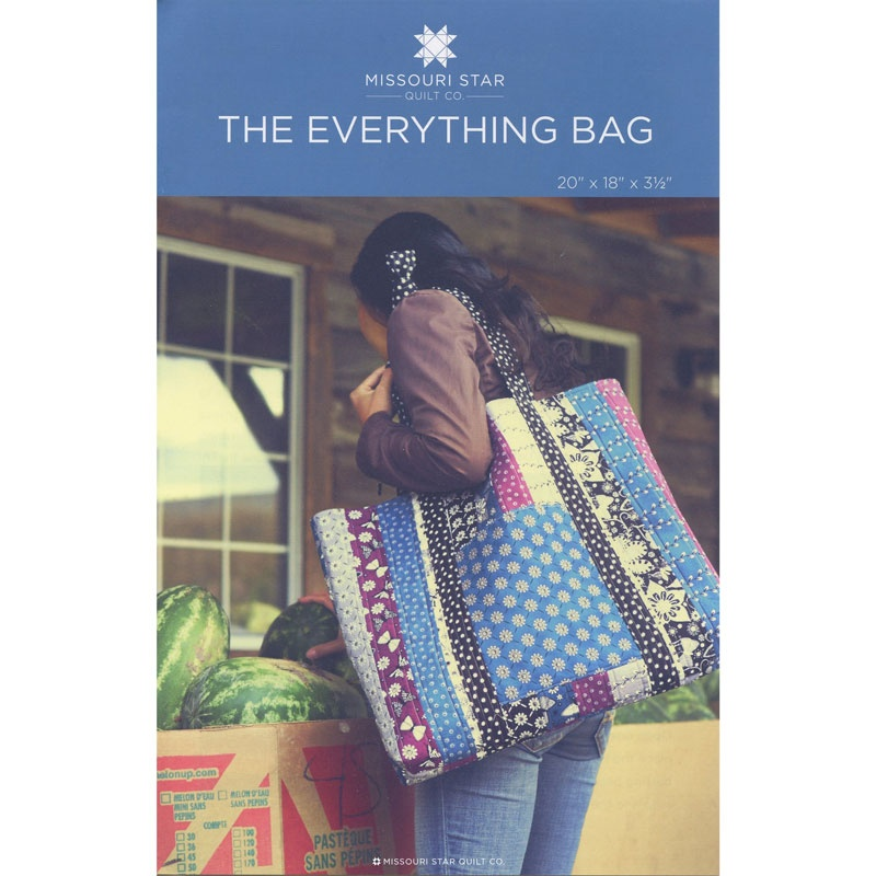 The Everything Bag Pattern by MSQC