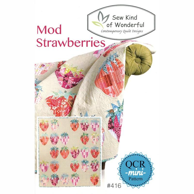 Mod Strawberries Pattern by Sew Kind of Wonderful