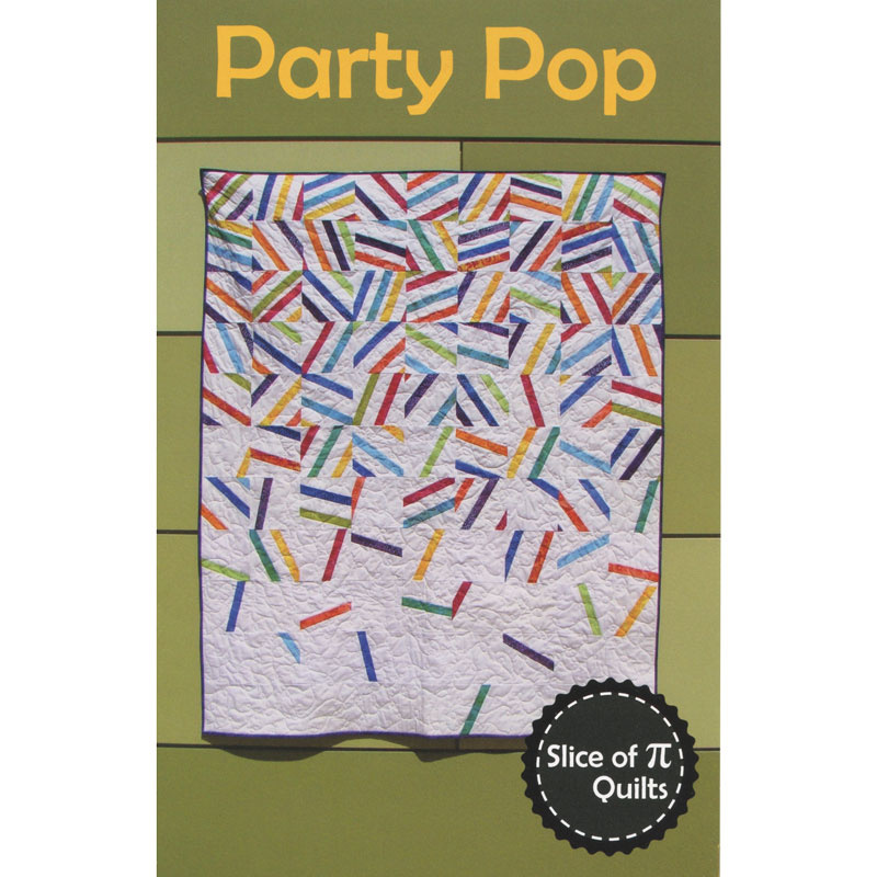 Party Pop Throw Quilt Kit