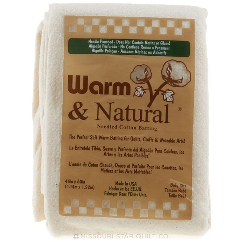 Warm & Natural Batting Crib
