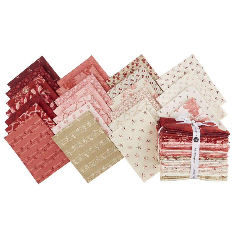 Braveheart Fat Quarter Bundle - Laundry Basket Quilts - Andover