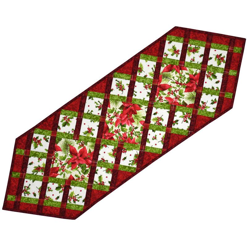 Christmas Ribbons Table Runner Kit