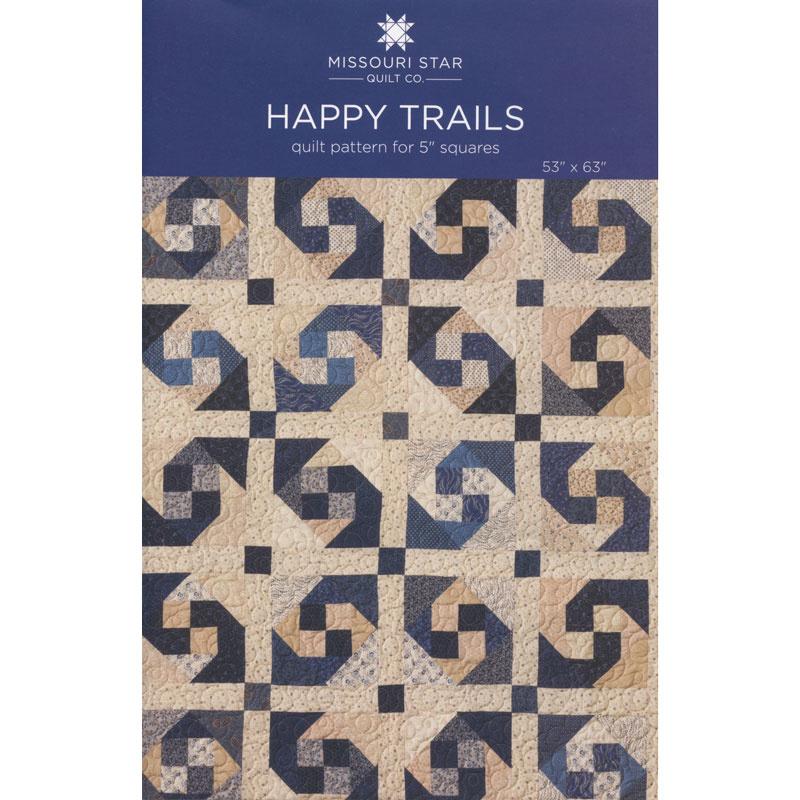 Happy Trails Quilt Pattern by Missouri Star