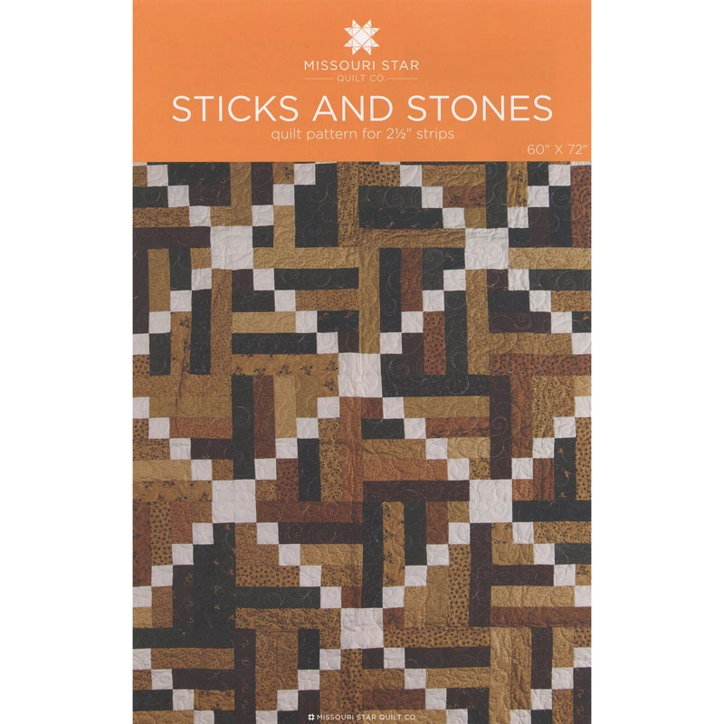 PTRN-1024 - Sticks & Stones Pattern by MSQC