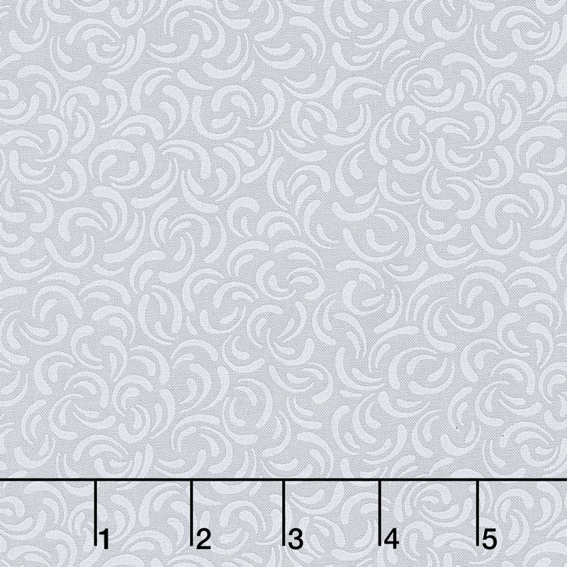 Wilmington Essentials - Silver Linings Scattered Petals Gray Yardage