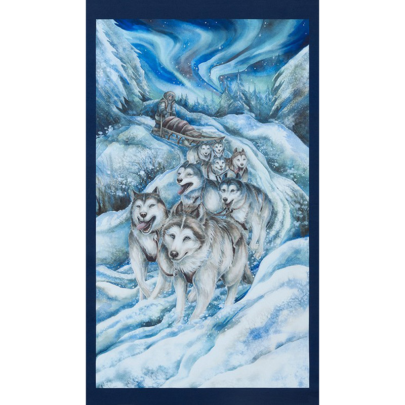 Northern Heritage 17551-88 Dog Sled Ice Panel