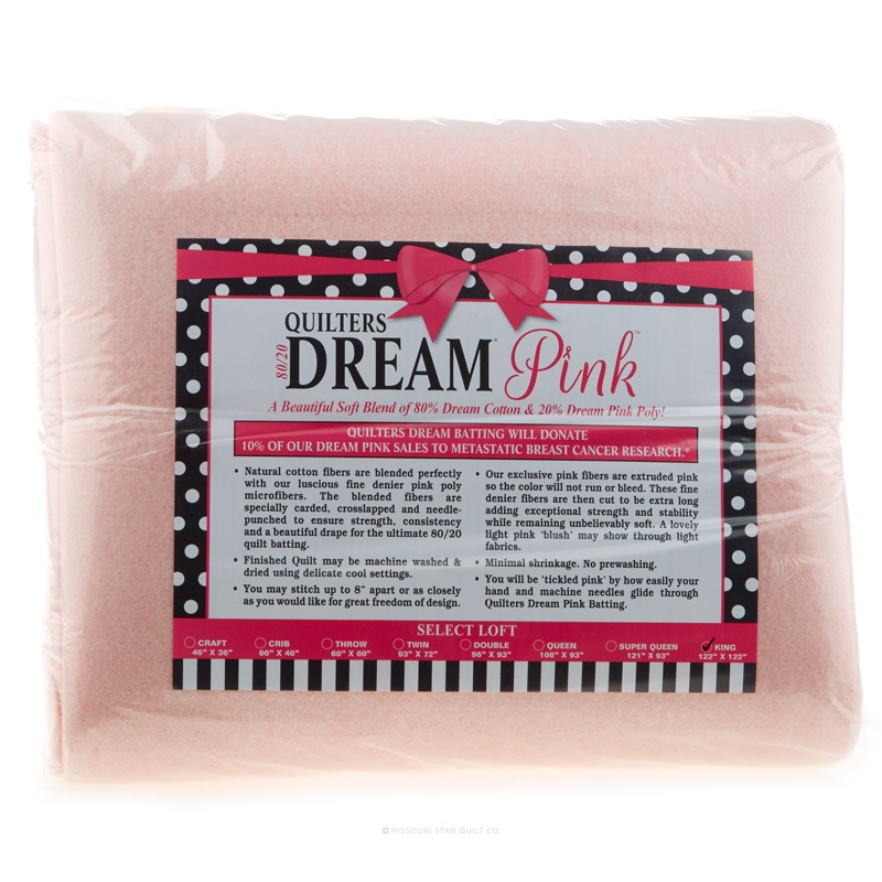 XQuilter's Dream Pink King Select Batting