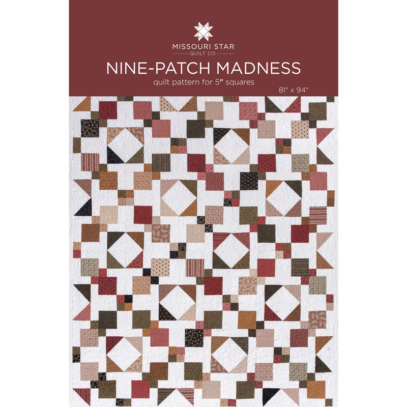 Nine-Patch Madness Quilt Pattern by MSQC
