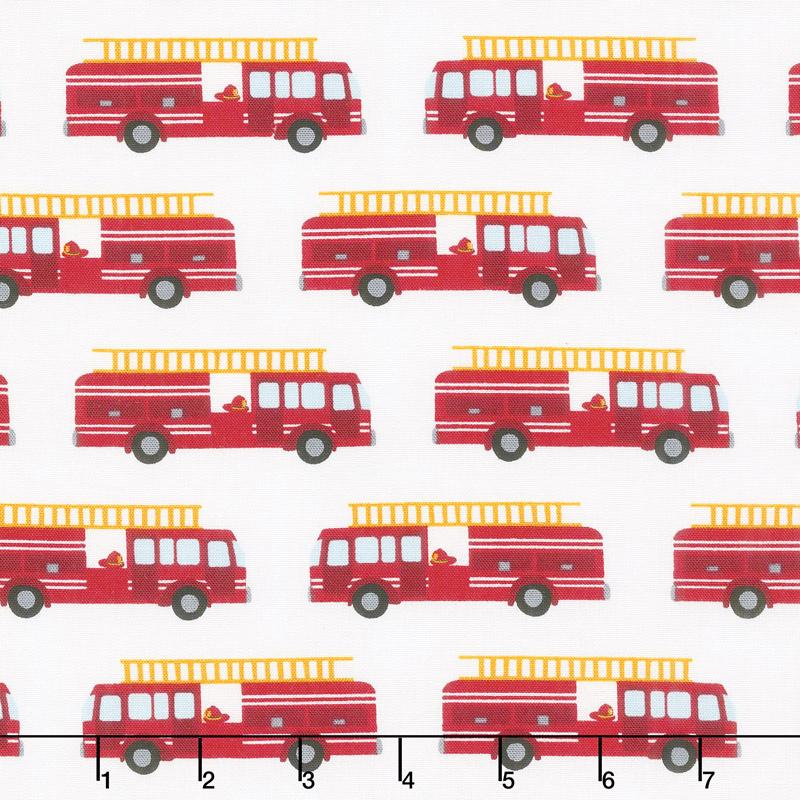 Fire Pups - Fire Truck White