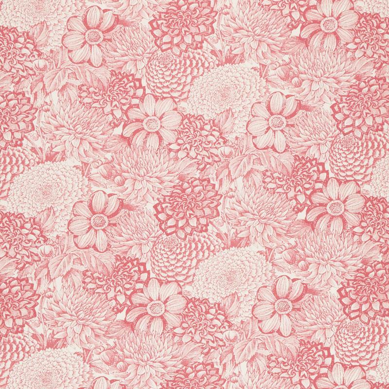 Le Bouquet - Floral Toile Pink