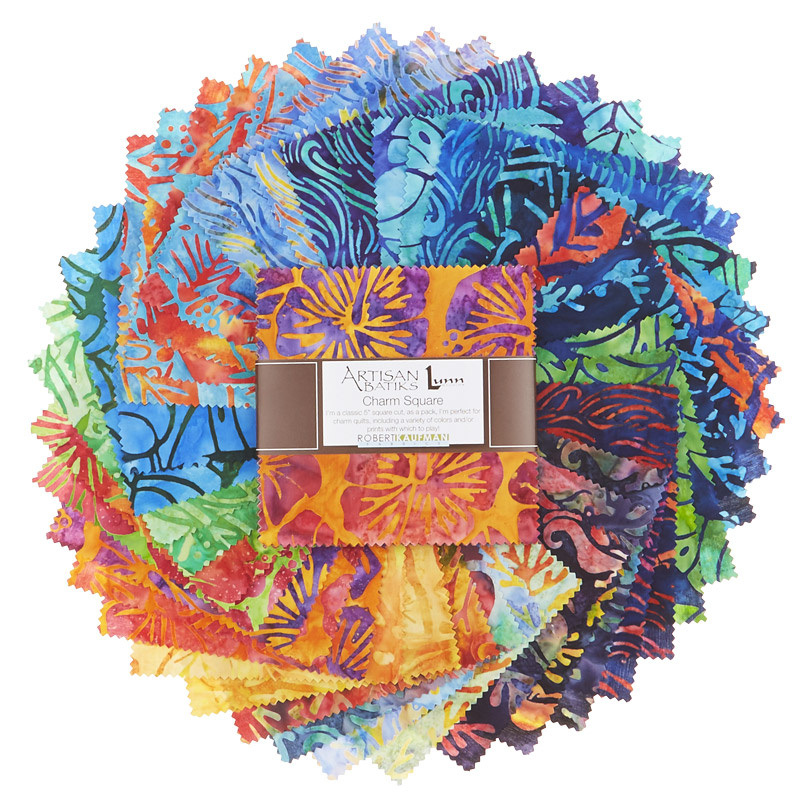 Artisan Batiks - Totally Tropical Charm Pack