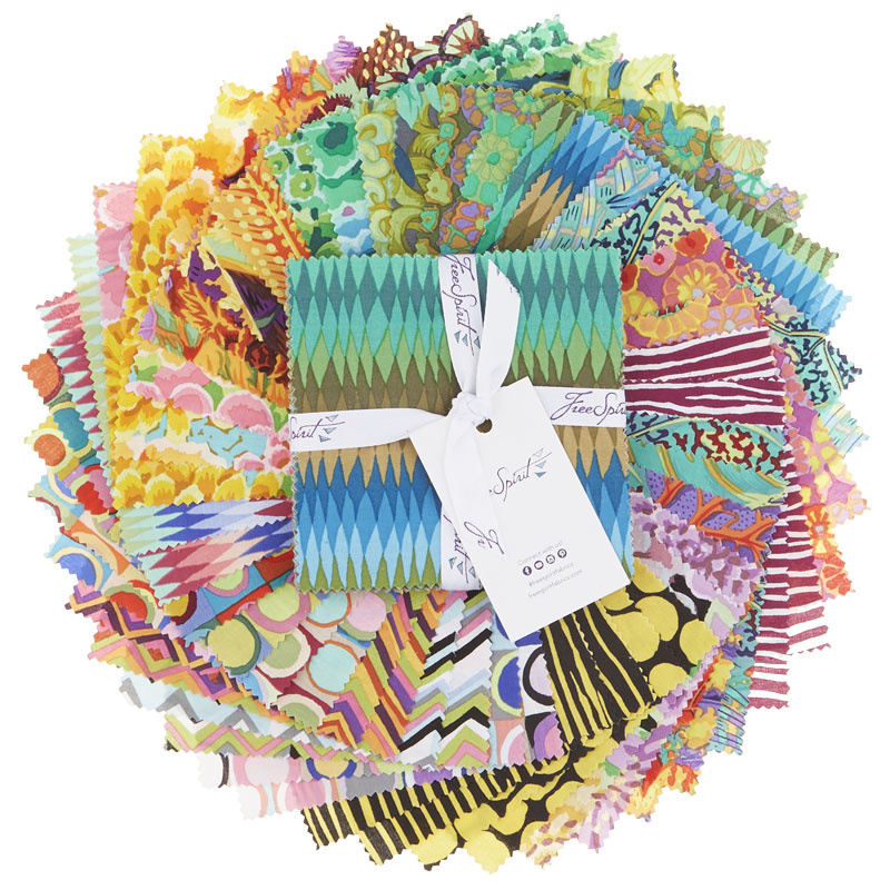 Kaffe Fassett Collective Fall 2018 Day 10 Charm Pack (42pcs)