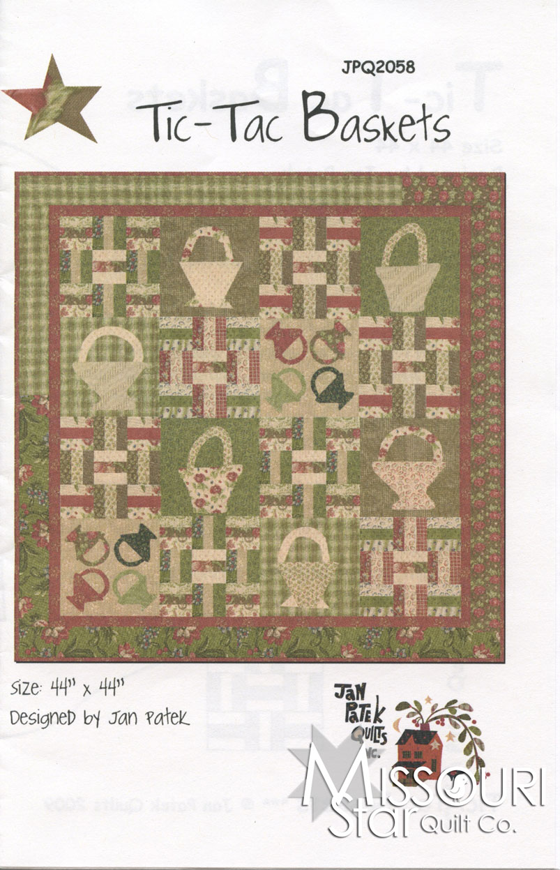 Tic-Tac Baskets Quilt Pattern
