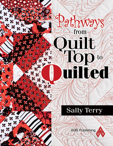 Pathways From Quilt Top Quilted