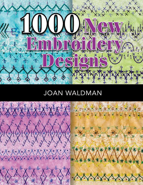 Book 1000 New Embroidery Designs by Joan Waldman