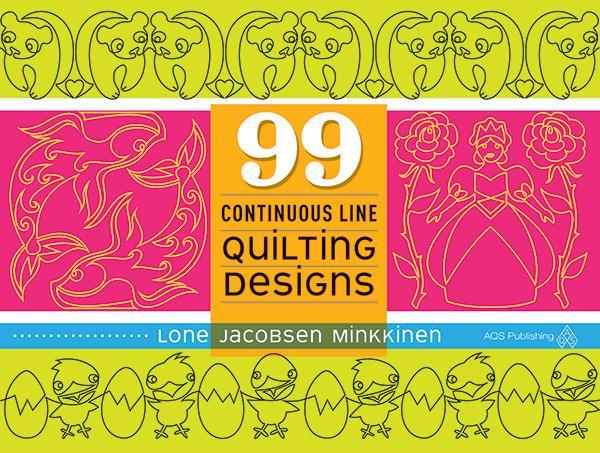 99 Continuous Line Quilting Designs