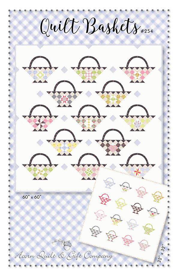 Quilt Baskets Pattern