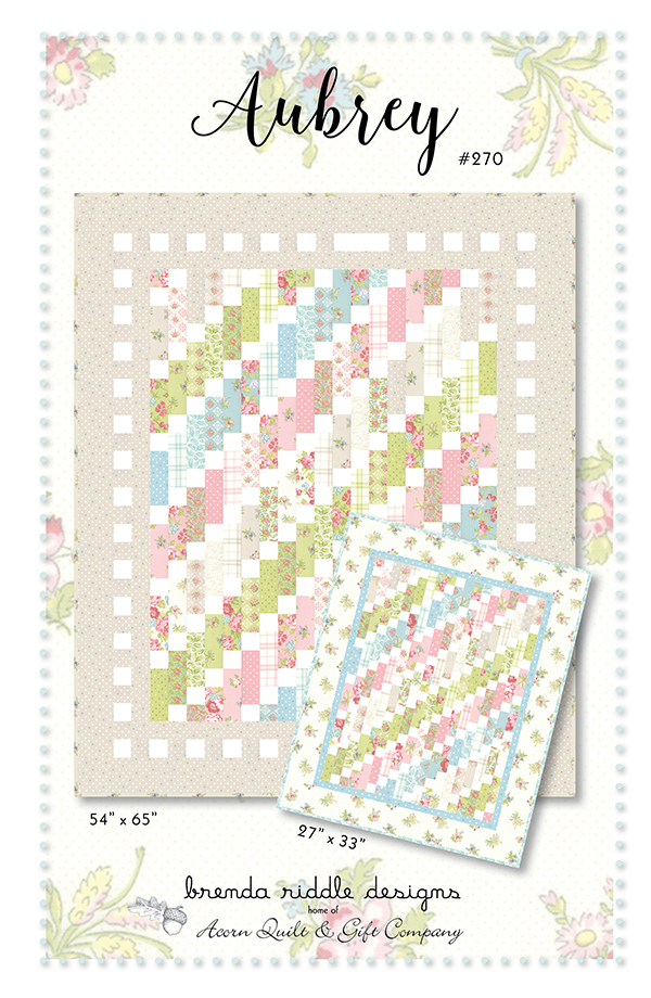 Aubrey Quilt Pattern by Acorn Quilt & Gift Company