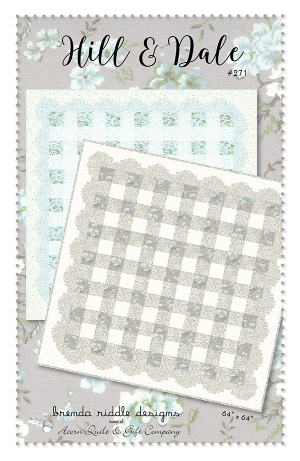 Hill & Dale SEAGLASS Quilt KIT w/ Pattern