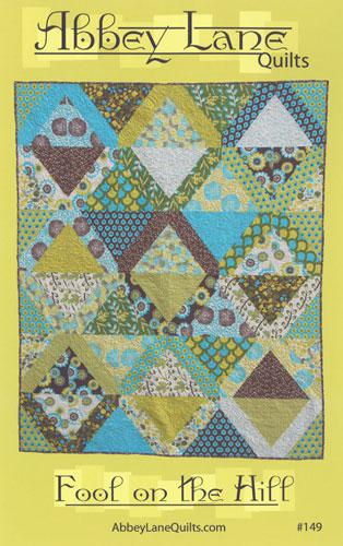 Fool on the Hill Quilt Pattern by Abbey Lane Quilts