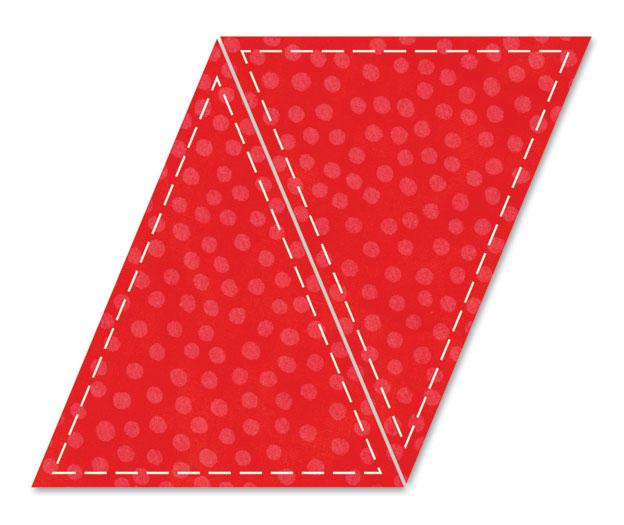 GO!- Isosceles Triangle 5x6 Die