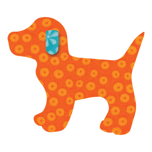 Baby Go! Gingham Puppy Dog Die