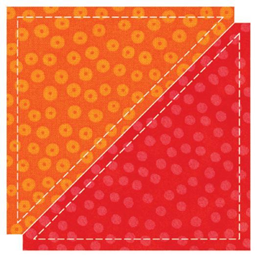 GO!- Half Square Triangle 4 1/2
