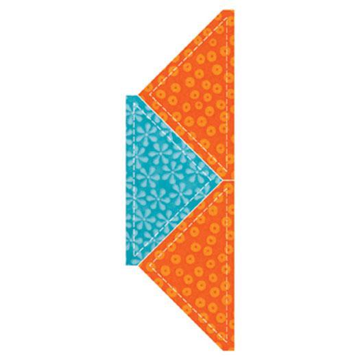 Go! Quarter Square Triangl 4.5