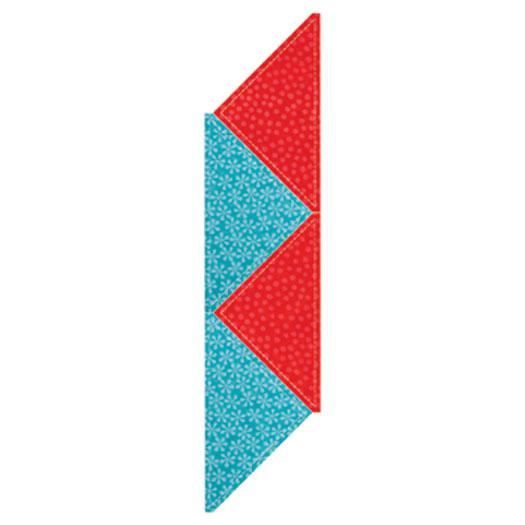 Go! Quarter Square Triangle 8