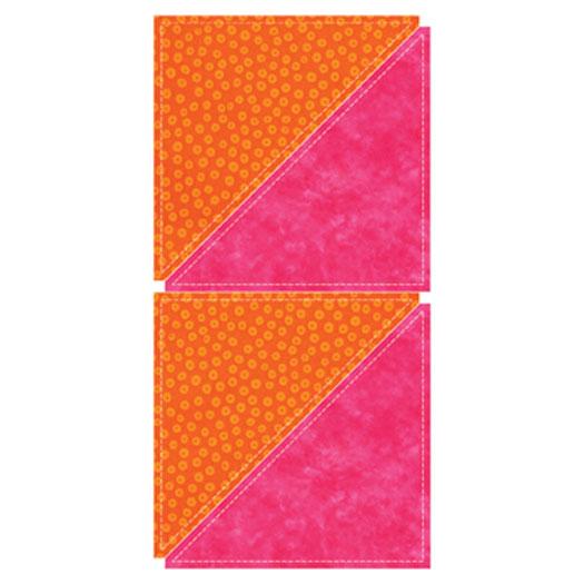 GO!- Half Square Triangle 8