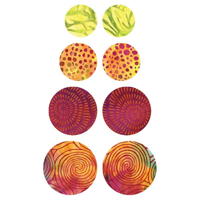 Go! Circle Die 55155  1 1/2, 1 3/4, 2 1/4, 2 1/2