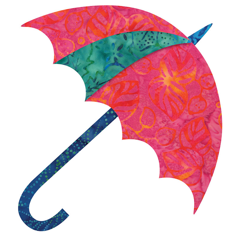 Go! Accuquilt Dancing Umbrella By Edyta Sitar 55178