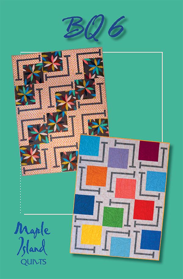 BQ6 MIQ243 Maple Island Quilts