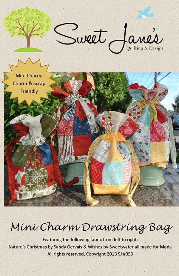 Mini Charm Drawstring Bag