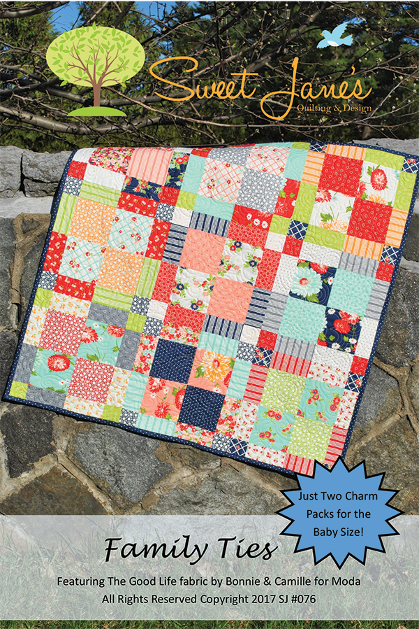 Family Ties, (charm pack friendly pattern)