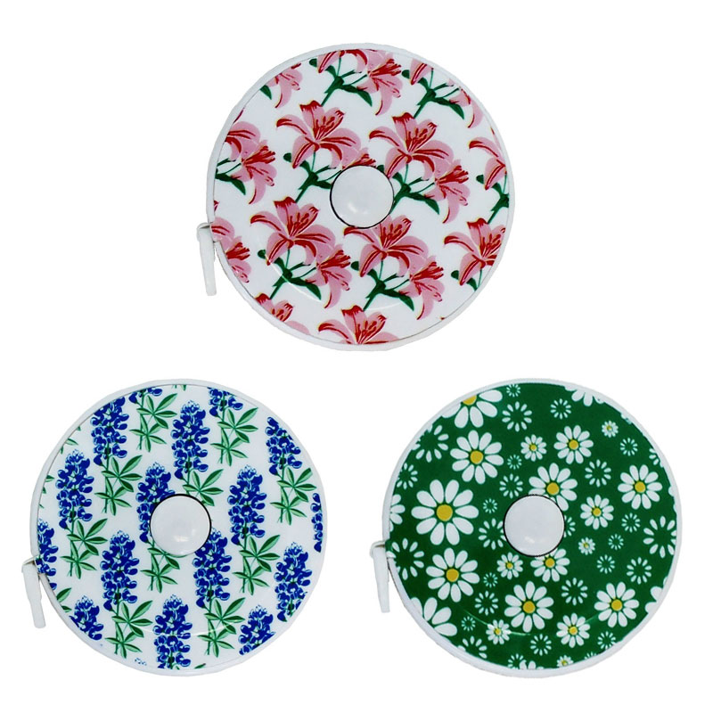 Spring Tape Measure Flowers 60 Asst. Colors