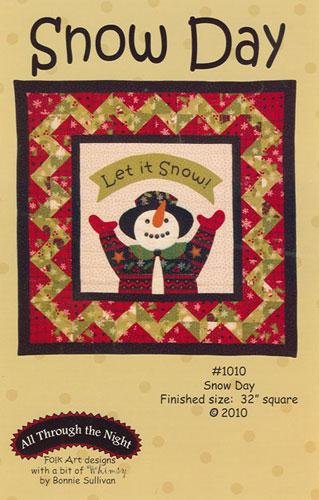 Pattern Snow Day #1010 by Bonnie Sullivan
