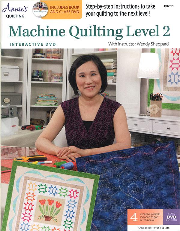 Machine Quilting Level 2 W/DVD