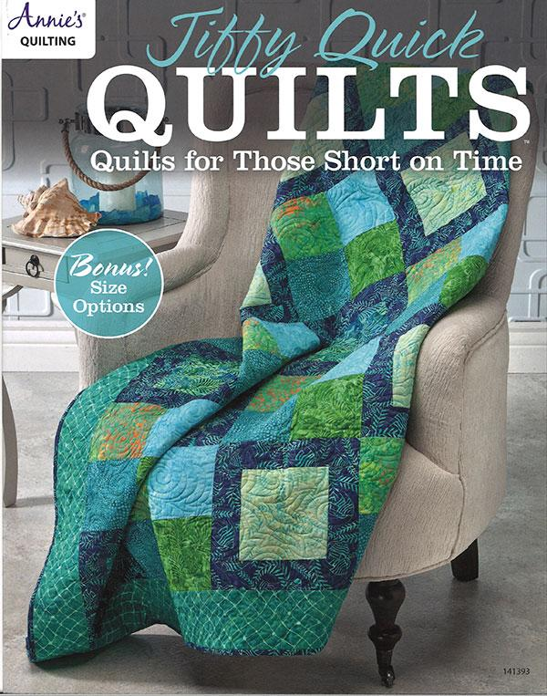 Jiffy Quick Quilts - Softcover