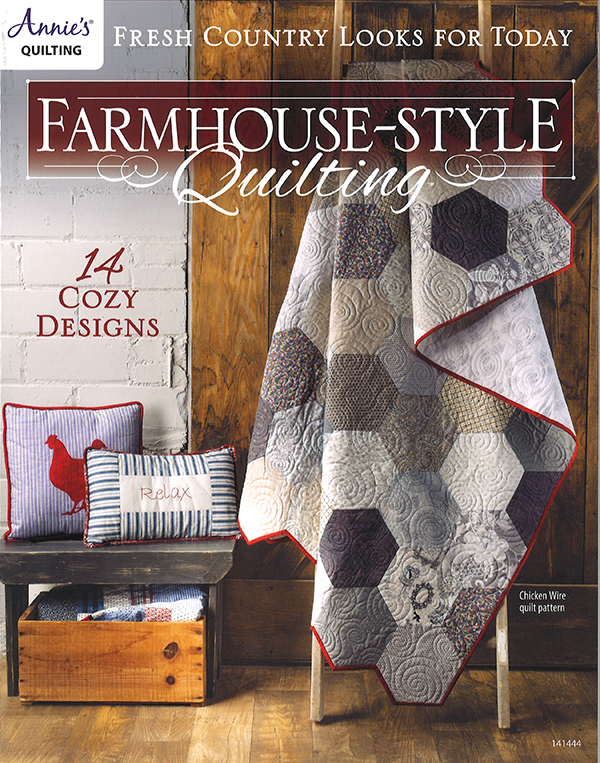 Annie's Quilting Farmhouse Style Quilting AS- 141444