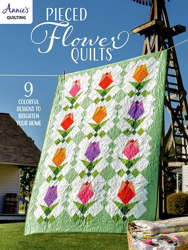 Annie's Quilting - Pieced Flower Quilts