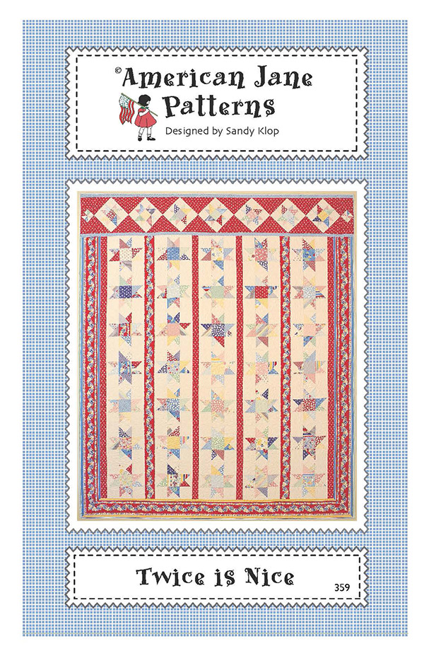 Twice As Nice Quilt Pattern