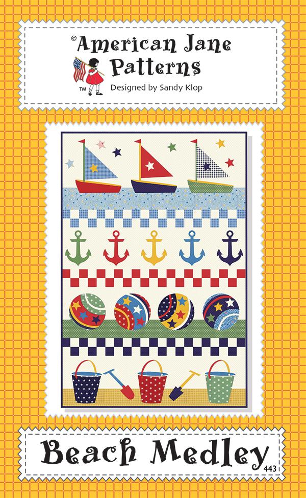 Beach Medley Quilt Pattern