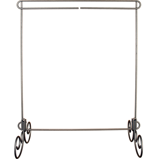 Single Stand 12 x 14 Silver