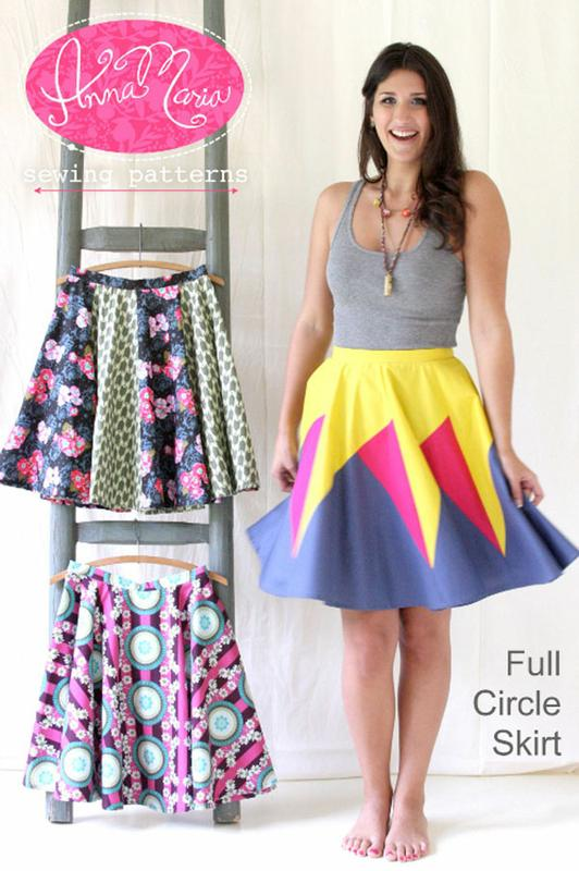Anna Maria Full Circle Skirt