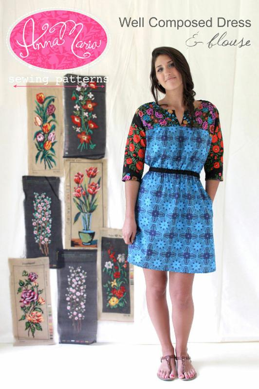Anna Maria Well Composed Dress & Blouse