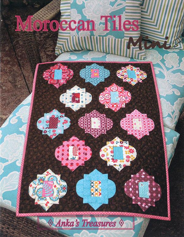 Anka's Treasures  Moroccan Tiles Mini Pattern