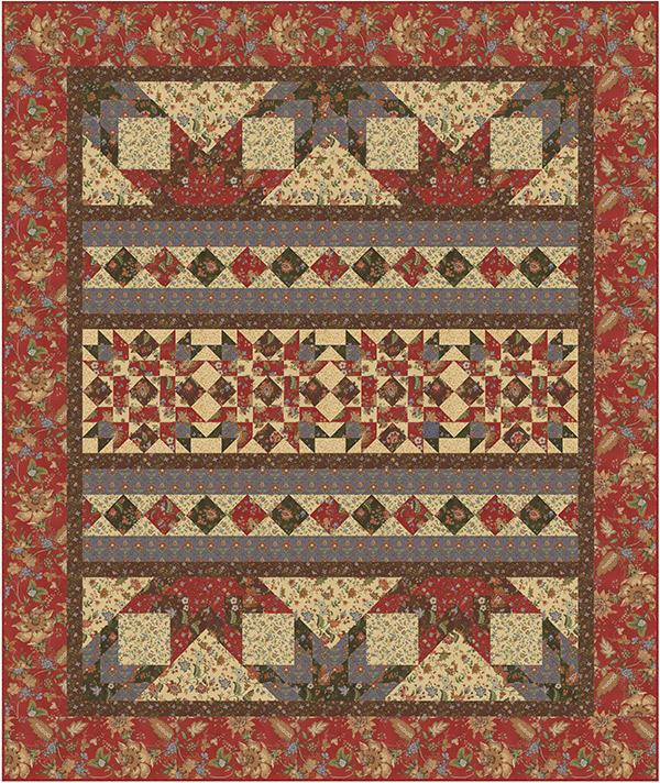Antler Quilt Design Northern Stroll